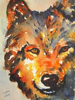 Spirit Wolf by Corynne Hilbert