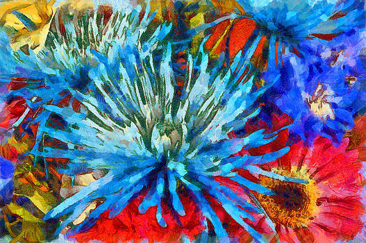 Splash of color by Slava Shamanoff