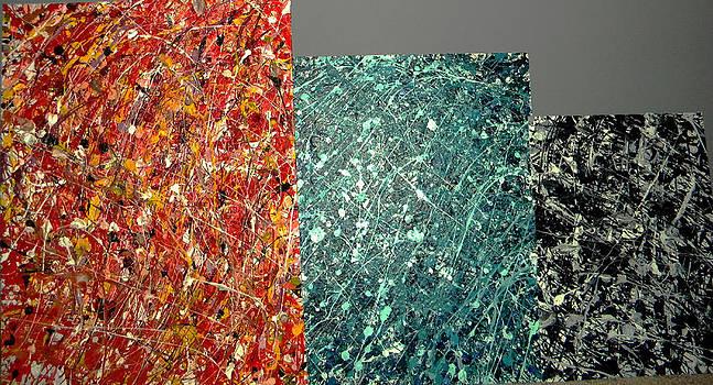 Splatter Series by Bill Hent