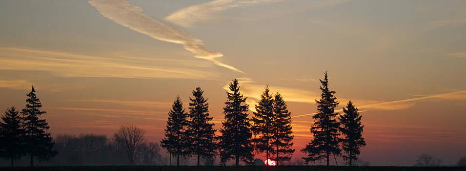 Splendid Sunrise by John-Paul Fillion