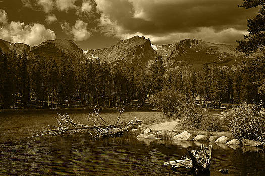 Sprague Lake Rocky Mountain National Park by Daniel Chui