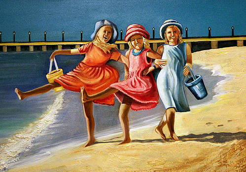Sprightly Seashore Sidekicks by Ann Iuen