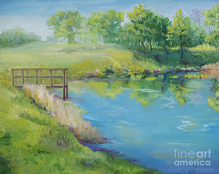 Spring at Crawfish Pond by Diana Cox