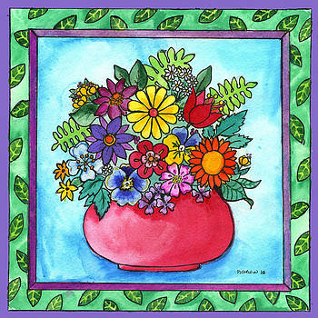 Spring Bouquet by Pamela  Corwin