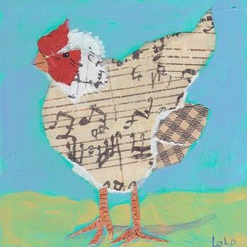 Spring Chicken 1 by Laurel Porter-Gaylord