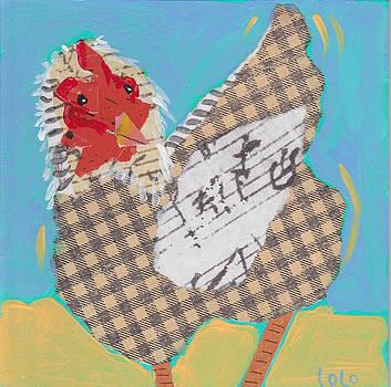 Spring Chicken 2 by Laurel Porter-Gaylord
