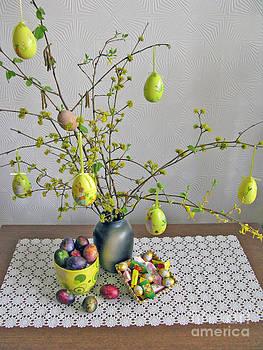Spring Holidays. Easter composition by Ausra Huntington nee Paulauskaite