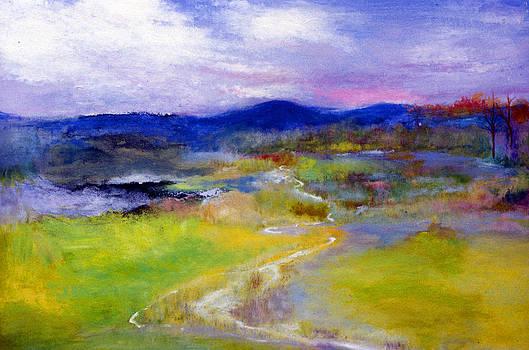 Spring Landscape by James Gallagher