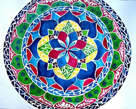 Spring Mandala by Sandra Lira