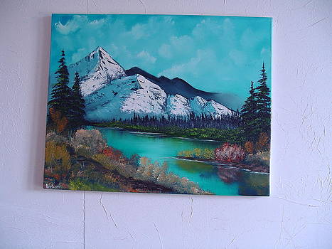 Spring Mountain by Thomas Hostvedt