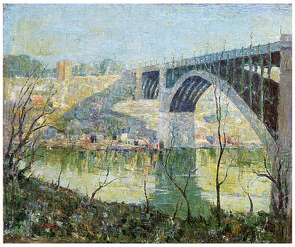 Ernest Lawson - Spring Night Harlem River