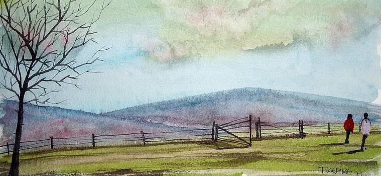 Spring Walk by Trudy Kepke