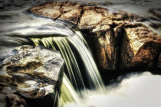 Spring Waterfall by Stuart Deacon