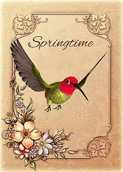 John Junek - Springtime - Hummingbird