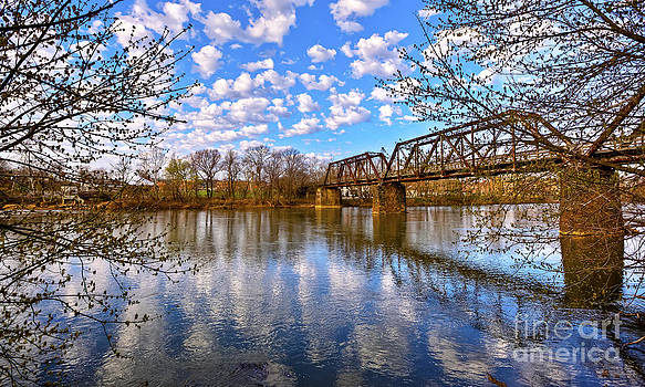 Springtime along the Dan River by Mark East