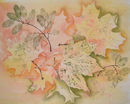 Sprinkling of Leaves by Carol Bruno