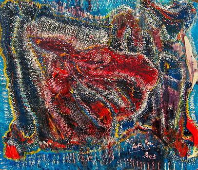 Squalo rosso by Mauro Maris