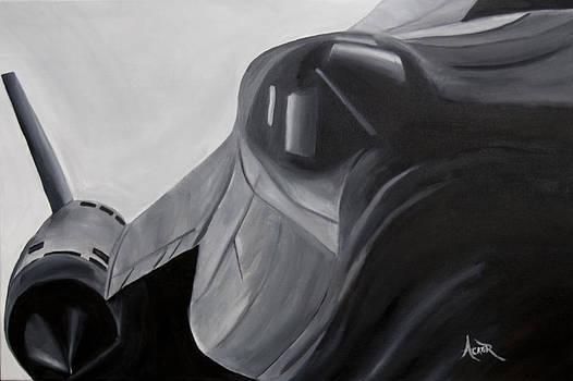 SR-71 Blackbird by Aaron Acker