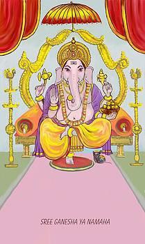 Usha Shantharam - Sri Ganesha