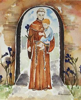 St Anthony of Padua by Regina Ammerman