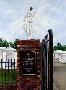 St. Bernard Historic Cemetery by Elaine Hodges