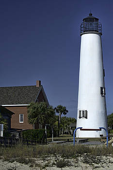 St. George Island Light House by Frank Feliciano