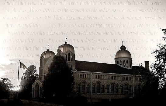 St Haralambos Greek Orthodox by Steve Buckenberger