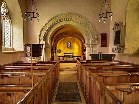 St John The Evangelist Elkstone Gloucestershire by Nick Temple-Fry