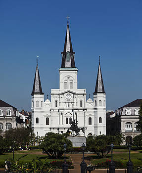 St. Louis Cathedral by Cecil Fuselier