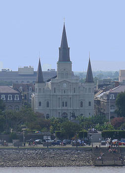 St. Louis Cathedral by Diane Ferguson