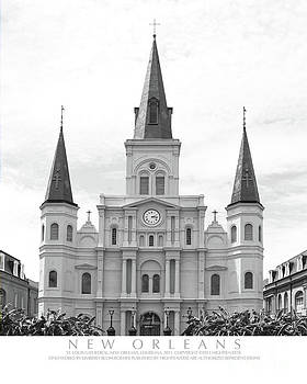 St. Louis Cathedral by Kimberly Blom-Roemer