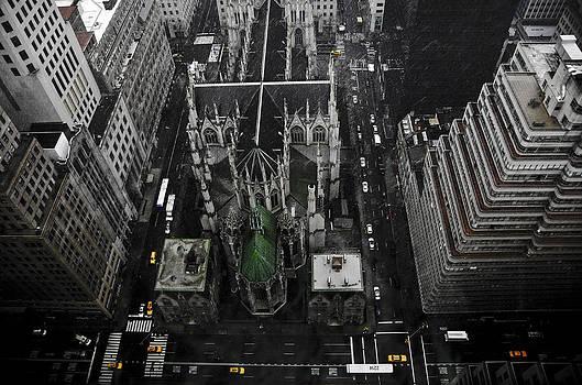 St. Patricks Cathedral by Marcel Krasner