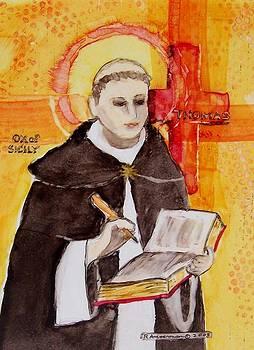 St Thomas Aquinas by Regina Ammerman