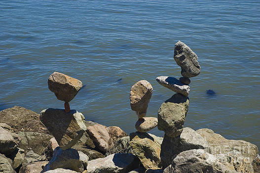Tim Mulina - Stacked Balanced Rocks