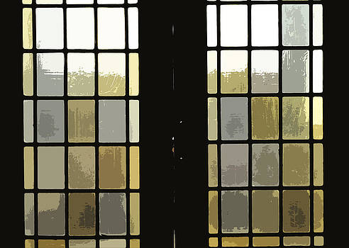 Stained Glass Doors by Peter  McIntosh