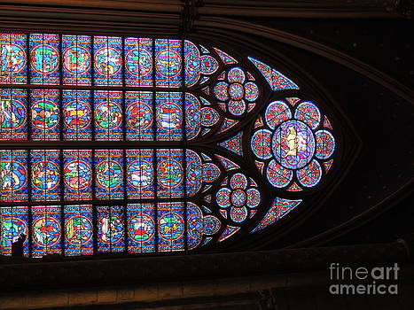 Stained Glass In Situ by Geraldine Liquidano