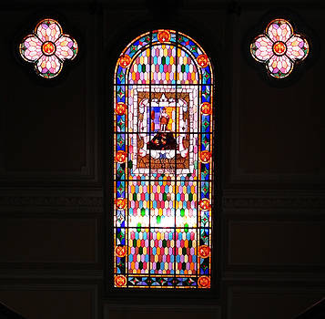 Stained glass by Jesus Nicolas Castanon