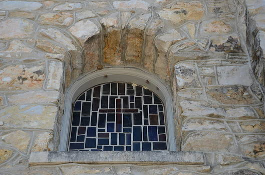 Stained Glass Window by Kathy Lewis