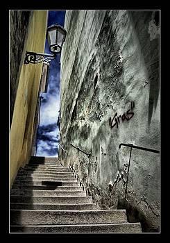 Stairs - Petr Nikl fotograf Praha by Petr Nikl