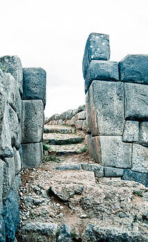 Darcy Michaelchuk - Stairs at Sacsayhuaman