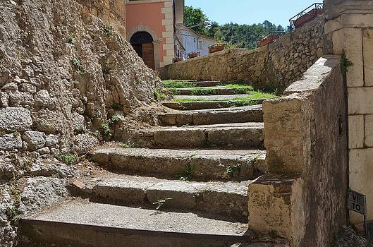 Stairs to the Chapel by Dany Lison