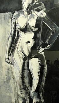 Standing Pose Of A Woman  by Shant Beudjekian