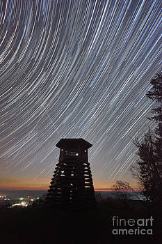 Star Trail 6262 by Chuck Smith