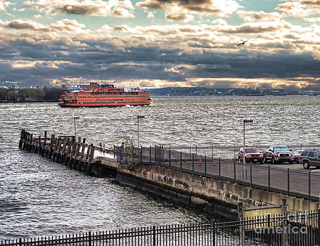 Anne Ferguson - Staten Island Ferry from the Pier