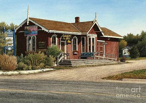 Station Gallery Fenelon Falls by Robert Hinves