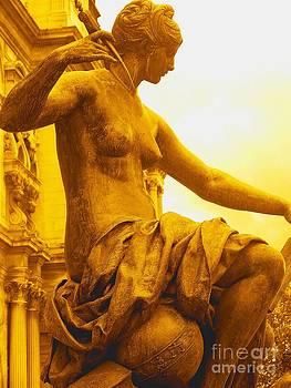Statue Justice - Paris - France by Francoise Leandre