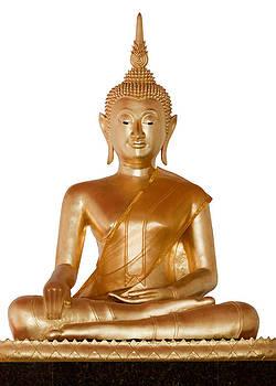 Statue of Buddha by Pichaya Punyakhetpimook