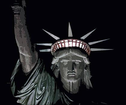 David Pringle - Statue of Liberty Poster