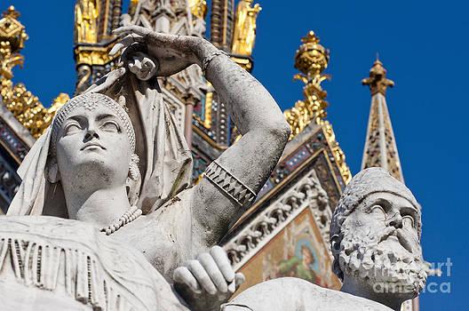 Statues at Albert Memorial by Andrew  Michael