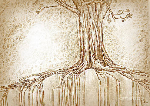 Stay Rooted in Sepia by Crystal June Norton